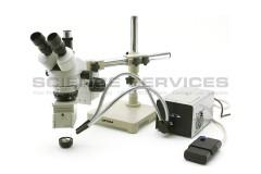 SMD muayene için Trinoküler Stereo Zoom Mikroskop